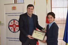 Grigol Nemsadze awarded European champion