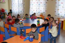 New kindergarden in Gardabani municipality