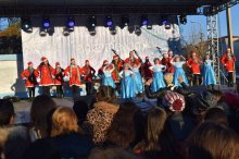 New year event in Tetritskaro municipality