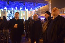 The governor attended the New Year event in Rustavi