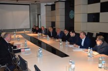A working meeting was held on the issues of melioration in the province