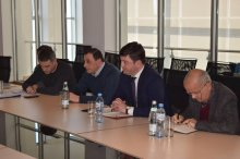 Grigol Nemsadze met with representatives of the United Water Supply Company