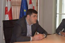 Kvemo Kartli governor congratulated journalists with professional day