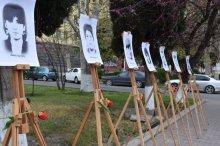 Governor of Kvemo Kartli adorned the memorial of April 9 in Rustavi