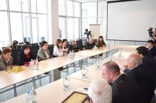Grigol Nemsadze hosted deserved writers working in the region