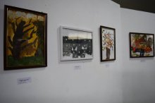 Grigol Nemsadze got acquainted with works of 8 year old Rustaveli artist