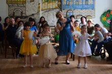 Beneficiaries of Rustavi Day Center held a glass performance