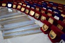 ოქროსა და ვერცხლის მედალოსანი კურსდამთავრებულების დაჯილდოება რუსთავში
