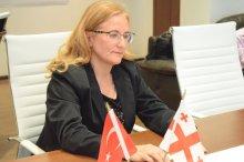 შოთა რეხვიაშვილმა თურქეთის რესპუბლიკის ელჩს უმასპინძლა