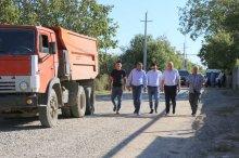 შოთა რეხვიაშვილმა გარდაბნის მუნიციპალიტეტის სოფლებში დასრულებული და მიმდინარე პროექტები მოინახულა