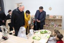ბოლნისში ახლადრეაბილიტირებული #4 საბავშვო ბაღი გაიხსნა