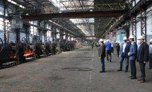 აქტიური სამუშაო პროცესი რუსთავის მეტალურგიულ ქარხანაში