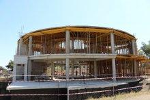 იუსტიციის სახლის მშენებლობა გარდაბანში