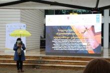 UNDP-ის პროექტის მონაწილეთა დაჯილდოება მარნეულში