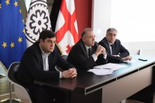 Grigol Nemsadze attended the information meeting on monetary policy
