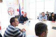 საინფორმაციო შეხვედრა ნატოსა და ევროკავშირის შესახებ