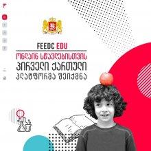 """საქართველოს განათლების, მეცნიერების, კულტურისა და სპორტის სამინისტრო სკოლებს ონლაინ სწავლებისთვის პირველ ქართულ ალტერნატიულ პლატფორმას - """"Feedc Edu""""-ს სთავაზობს"""