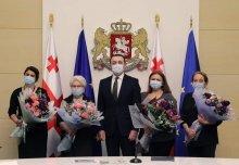 საქართველოს პრემიერ-მინისტრმა ირაკლი ღარიბაშვილმა აზერბაიჯანელ თანამოქალაქეებს მთავრობის ადმინისტრაციაში უმასპინძლა