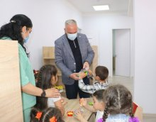ახალი საბავშვო ბაღი გარდაბნის მუნიციპალიტეტში