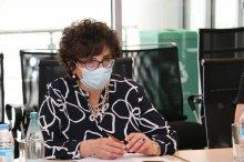 სამუშაო შეხვედრა გაეროს მოსახლეობის ფონდის UNFPA საქართველოს ოფისის წარმომადგენლებთან
