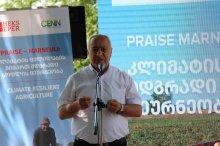 კლიმატის მიმართ მდგრადი სოფლის მეურნეობა - PRAISE Marneuli - პროექტის გახსნის ღონისძიება მარნეულის მუნიციპალიტეტში